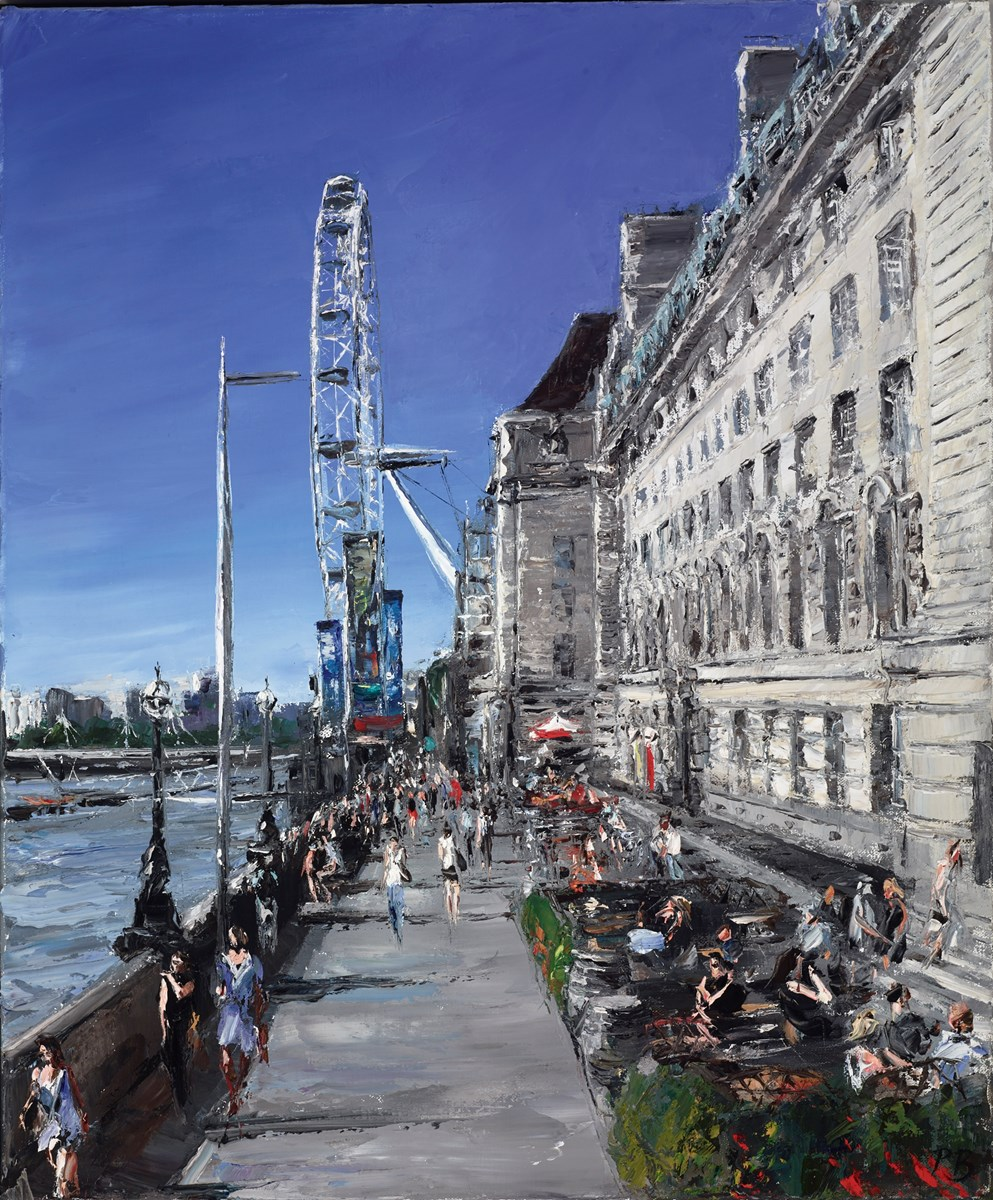 London Eye by david porteous butler -  sized 20x24 inches. Available from Whitewall Galleries